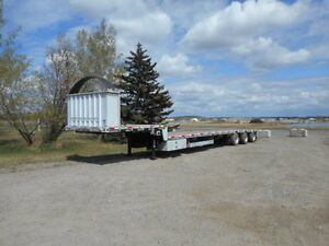 2013 Lode King 53 foot triaxle stepdeck with side kit