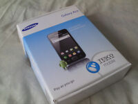 Samsung Ace mobile phone