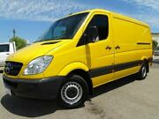 2012 Mercedes-Benz Sprinter NCV3 MY12 313CDI Low Roof MWB Yellow 6 Speed Manual Van Welshpool Canning Area Preview