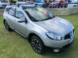 2013 Nissan Dualis J10W Series 3 MY12 Ti Hatch X-tronic 2WD Silver 6 Speed Constant Variable Wangara Wanneroo Area Preview