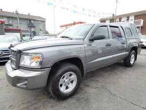 2009 DODGE DAKOTA SXT (4X4, V8, 95,000 KM, FULL, IMPÉCCABLE!!!)