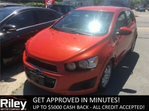 2012 Chevrolet Sonic LS STARTING AT $58.09 BI-WEEKLY