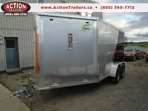 16' ALL ALUMINUM SPORT TRAILER - SNOWMOBILE SEASON IS COMING!