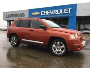 2008 Jeep Compass Limited 4WD (Heated Leather, Bluetooth)