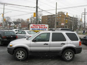 **2005 Ford Escape XLT 4x4**  Certified & E-tested