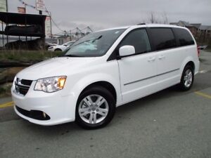2016 Dodge GRAND CARAVAN Crew (REVERSE CAM, HEATED SEATS & STEER