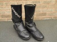 Size 40 (6) Prexport Motorcycle Boots.