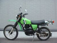 Wanted Kawasaki KL 250, classic, retro, parts