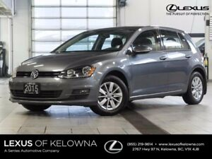 2015 Volkswagen Golf Trendline TDI w/Heated Seats