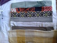 selection of ladies scarfs, £5 the lot.