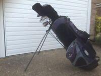Golf Club Set & Bag - Tidy condition (Howson)