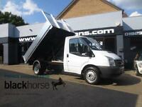 2007 Ford Transit T350 2.4TDCi Brand New Alloy Body Tipper E/W Diesel white Manu