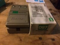 Ibanez DS7 GUITAR PEDAL AS NEW