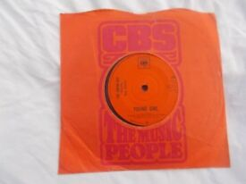 "Vinyl 7"" 45 Young Girl / I'm Losing You – Gary Puckett & The Union Gap CBS 3365 1968"