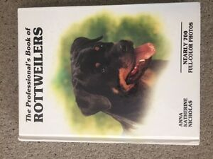 Rottweilers Hard Cover Book