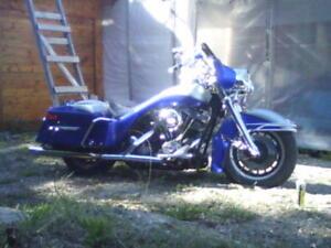 Harley Davidson   Bagger 1977