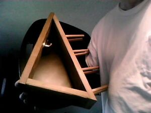 Solid Wood Tie Rack