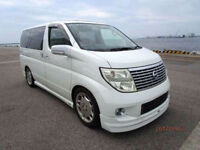 FRESH IMPORT LATE 2004 FACE LIFT NISSAN ELGRAND V6 AUTOMATIC 8 SEATER PEARL