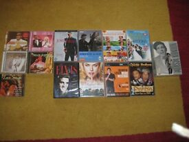 Selection Of Twenty Eight DVDs And Compact Discs. OFFERS WELCOME