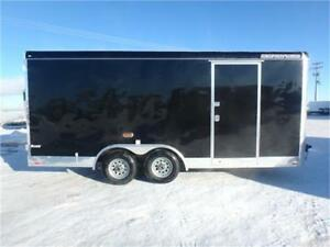 *2017* 8.5 X 18 Enclosed Cargo Trailer - 5,200# Axles -*TAX IN*-