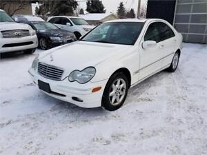 2002 Mercedes-Benz C240 Elegance*****Only 118810 km**Automatic