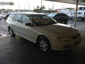 2006 Holden Commodore VZ MY06 Executive White 4 Speed Automatic Wagon Broadmeadow Newcastle Area Preview