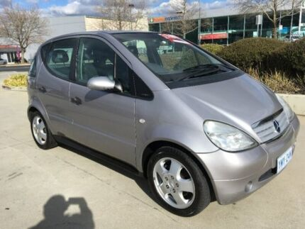 2000 Mercedes-Benz A160 W168 Avantgarde Grey 5 Speed Automatic Hatchback Fyshwick South Canberra Preview