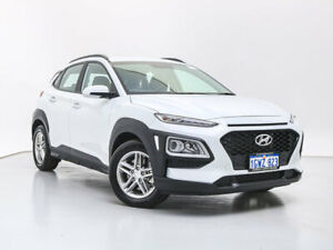 2019 Hyundai Kona OS.2 MY19 Active (AWD) Chalk White 7 Speed Auto Dual Clutch Wagon Jandakot Cockburn Area Preview