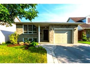 Rent this Beautiful 3 Bed 2 Bath Whole House backing onto Park!!