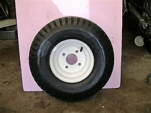"""5.70 X 8"""" UTILITY TRAILER WHEEL AND TIRE"""