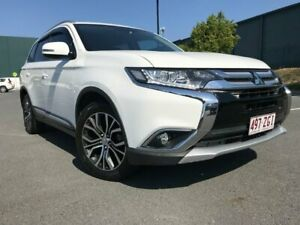 2016 Mitsubishi Outlander ZK MY16 XLS 4WD White 6 Speed Sports Automatic Wagon Arundel Gold Coast City Preview
