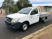 2008 Toyota Hilux TGN16R Workmate White Automatic Cab Chassis Single cab Ballina Ballina Area Preview