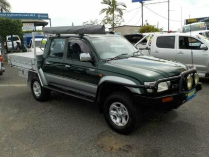 2002 Toyota Hilux LN167R MY02 SR5 Green 5 Speed Manual Utility