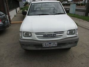 2001 Holden Rodeo TF MY01 LX White 4 Speed Automatic Cab Chassis Tottenham Maribyrnong Area Preview