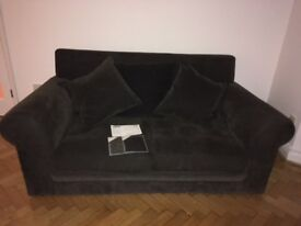 John Lewis Sofa. Provence range, 2 seater, 165 x 79 x 96 cm plus 4m of spare fabric.