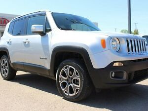 2015 Jeep Renegade LIMITED, NAVI, HEATED WHEEL + SEATS, BACKUP C