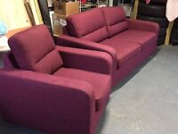 Two Seater & Single Seat Sofa (approx. 14 months old)