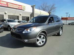 2011 HYUNDAI VERACRUZ LIMITED AWD  **DVD+SUNROOF**