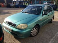 DAEWOO LANOS 1.6 PETROL MANUAL SX 5 DOOR HATCHBACK GOOD DRIVE CHEAP CAR LONG MOT NOT KALOS ASTRA KA