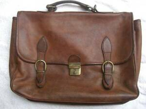 Quality cowhide, italian briefcase Paddington Brisbane North West Preview