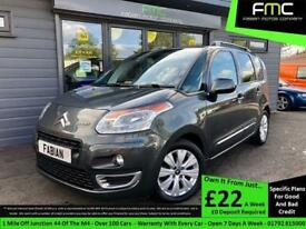 2012 Citroen C3 Picasso Exclusive 1.6HDI **Full Service History - 60MPG**