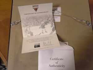 """Bobby Orr """"The Goal"""" Signed Picture London Ontario image 4"""