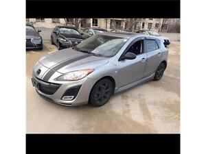 2010 MAZDA 3 6 SPEED, SUNROOF, NO ACCIDENTS, FINANCING AVAILABLE
