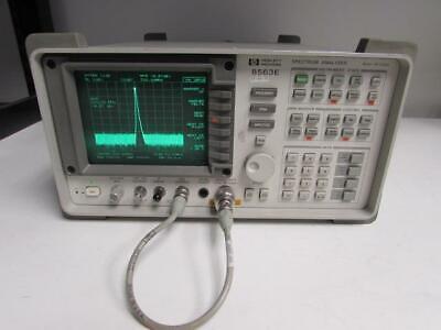 Hp 8563e Spectrum Analyzer 30hz To 26.5ghz Type-n Connector Opt 006