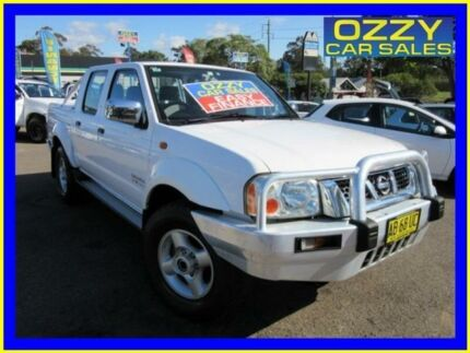 2004 Nissan Navara D22 ST-R (4x4) White 5 Speed Manual Dual Cab Pick-up Penrith Penrith Area Preview