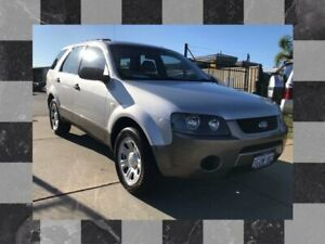 2009 Ford Territory SY MkII TX Silver 4 Speed Sports Automatic Wagon