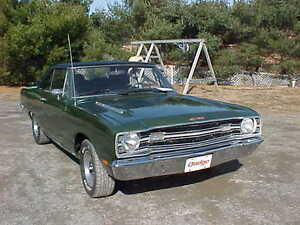 WANTED: CONSUL COVER FOR CENTER CONSUL 69 DODGE DART GTS