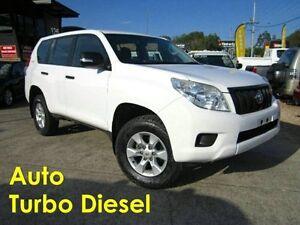 2012 Toyota Landcruiser Prado KDJ150R GX White 5 Speed Sports Automatic Wagon Noosaville Noosa Area Preview