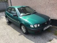 TOYOTA COROLLA 1.4 GS VVT-I 3DR Manual (green) 2000