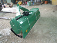 "NEW 72"" ROTOTILLER 3 POINT HITCH ROTARY TILER"